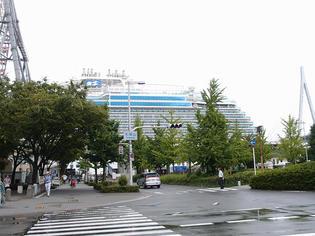 マジェスティック・プリンセス 大阪港初入港!!