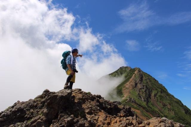 八ヶ岳連峰の最高峰・赤岳2,899m...
