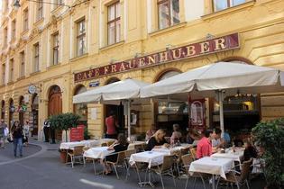 ウィーン最古のカフェ「フラウエンフーバー」は、モーツァルトとベートーヴェンゆかりの地