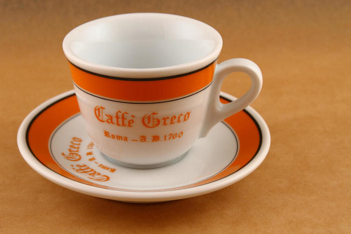 Photo by davharuk[Caffe Greco espresso cup & saucer](CC-BY2.0).jpg