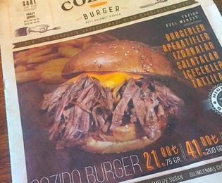 """トルコでこだわりの本格バーガーが食べられるお店はここ!イスタンブール""""Cozido Burger"""""""