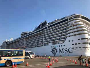日本初寄港!MSCスプレンディダへ乗船しました!