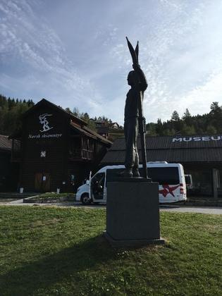 ノルウェーでテレマークを決めてきた!テレマーク地方の穴場観光スポット