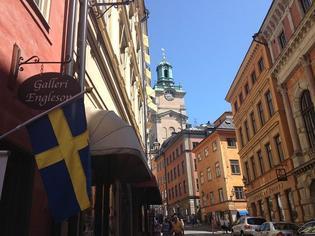 【スウェーデン】超隠れ家カフェも発見!夏のガムラスタン散策