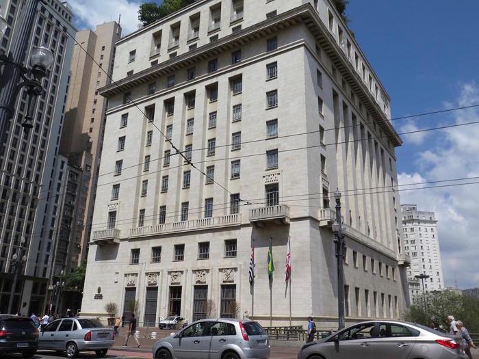 サンパウロの旧市街、セントロ地...