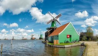 アムステルダム近郊!愛らしい風車村 『ザーンセスカンス』