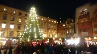 クリスマスムード一色!12月のストックホルムの様子