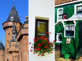 絵本のような風景に出会える♪ オランダの『3色の田舎町』