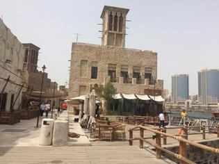ドバイの過去と現在をつなぐアル・シーフ地区散策