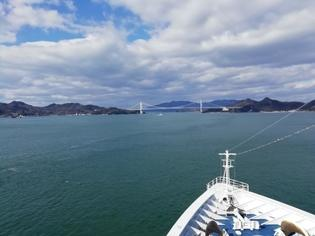 神戸から別府まで飛鳥Ⅱで航く!多島美あふれる瀬戸内海クルーズ
