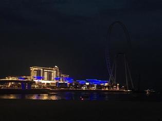2019年内に世界一の観覧車が完成予定!新たな人工島ドバイ「Blue Waters」