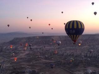 超おすすめ!トルコ・カッパドキア気球(バルーン)体験!