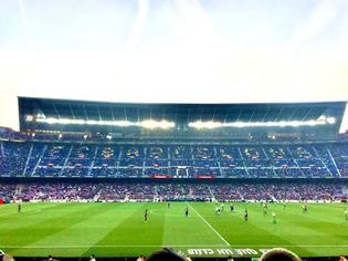 【バルセロナ】夢の<カンプ・ノウ>でサッカーを観戦してきました!
