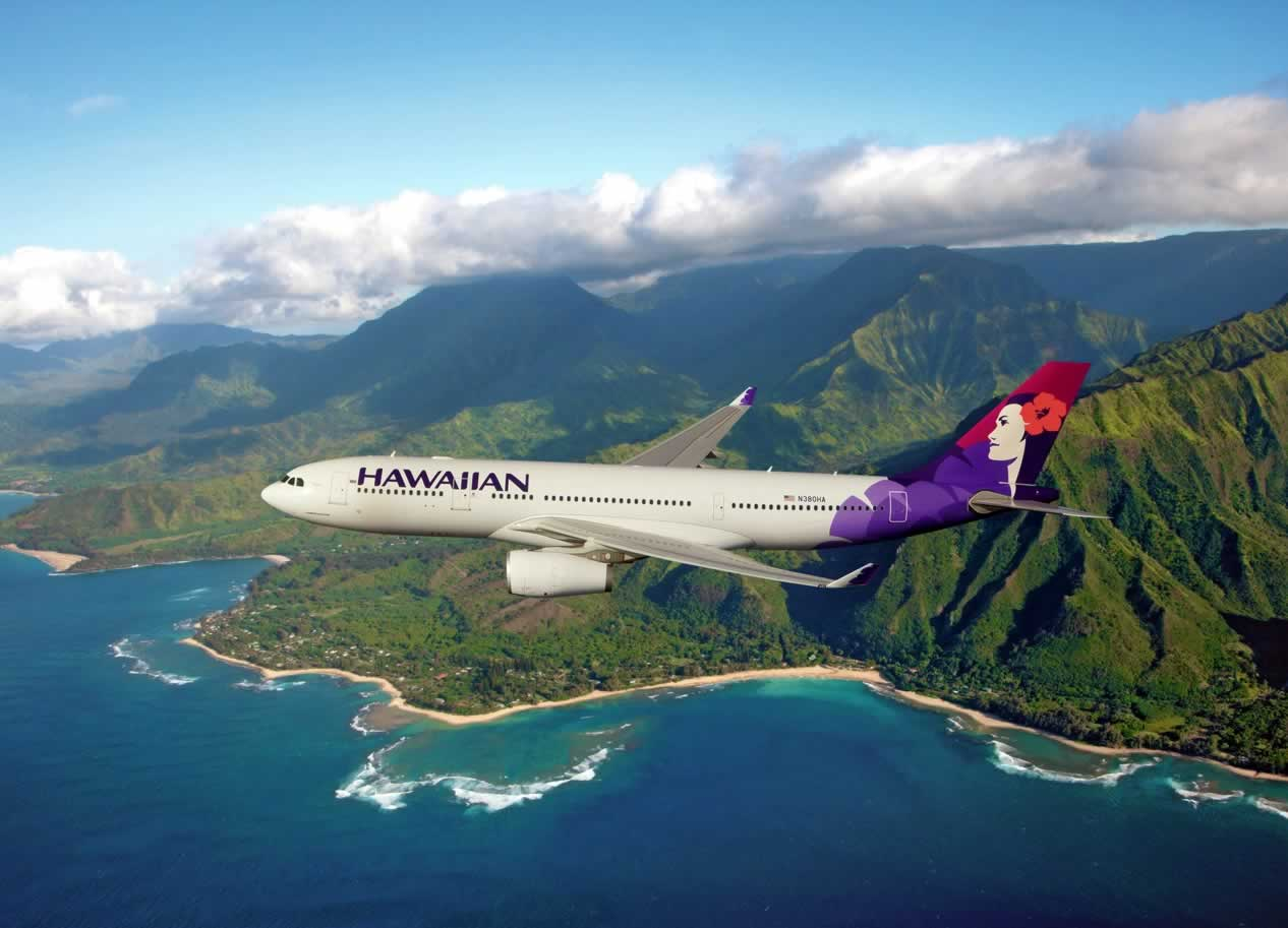 写真提供:Hawaiian Air Line