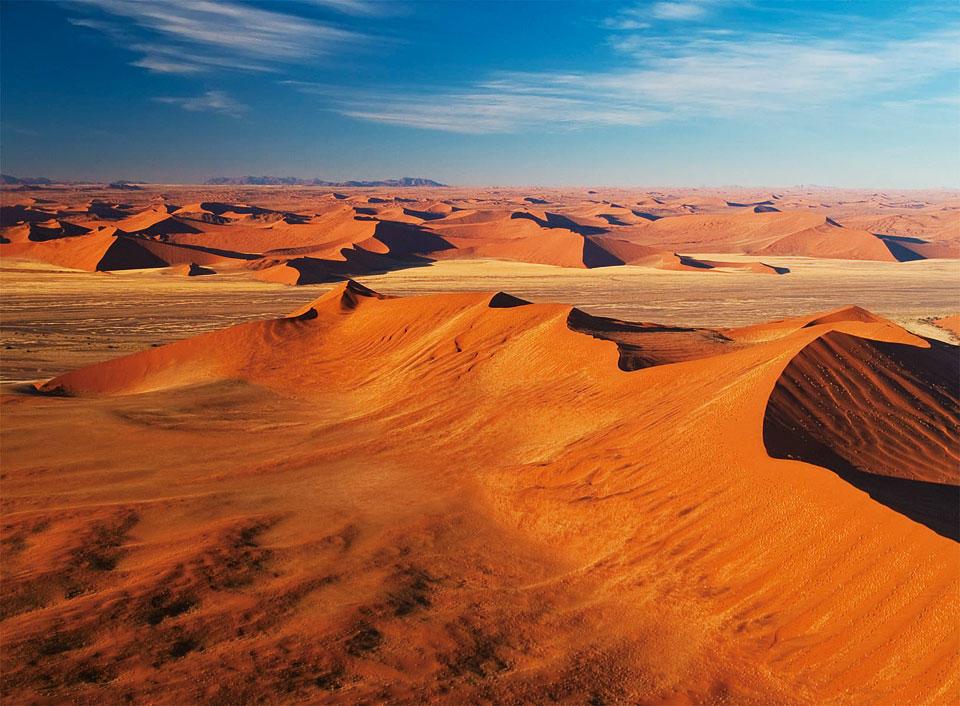 ナミブ砂漠のビックダディ
